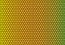 Grille de Honey Comb Pattern Background Texture Photographie stock libre de droits