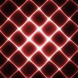 Grille de lampe au néon Image libre de droits