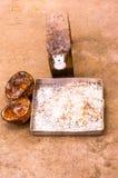 Grille de noix de coco Images libres de droits