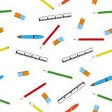Grille de tabulation, crayon lecteur sur un fond blanc Image stock