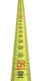 Grille de tabulation jaune simple d'isolement, Image stock
