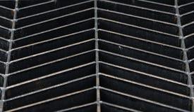 Grille en acier Photo libre de droits
