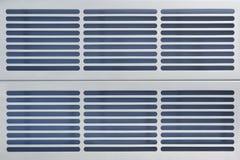 Grille en aluminium de ventilation Photographie stock libre de droits