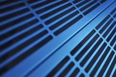 Grille en aluminium de ventilation images libres de droits