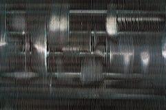 Grille en métal. Photo stock