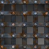Grille en métal Photo libre de droits