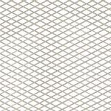 Grille en métal d'isolement sur le blanc images libres de droits