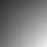 Grille géométrique monochrome, maille avec des lignes droites illustration stock