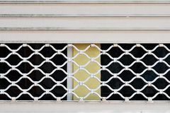 Grille gate Stock Photography