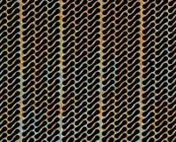 Grille grunge en métal Image stock