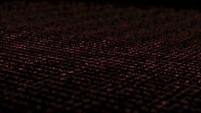 Grille isométrique dynamique de foudre rouge illustration de vecteur