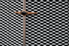 The grille of an old car Royalty Free Stock Photography
