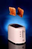 Grille-pain et pain Photographie stock