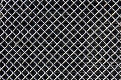 Grille from a Semi Tractor Trailer or Big Rig Truck for background picture I Royalty Free Stock Photography