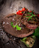 Grilled 500g bbq steak Royalty Free Stock Photo