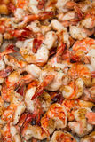 Grilled Appetite Prawns Royalty Free Stock Images