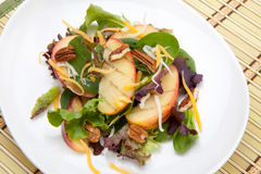 Grilled Apple Salad Stock Photo