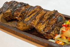 Grilled argentinean steak Royalty Free Stock Image