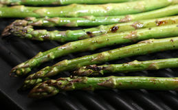 Grilled Asparagus royalty free stock photos