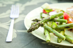 Grilled asparagus Royalty Free Stock Image