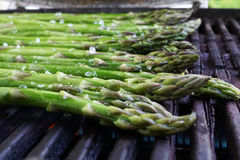 Grilled asparagus Stock Photography