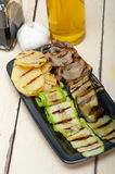 Grilled assorted vegetables Royalty Free Stock Photo
