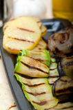 Grilled assorted vegetables Stock Photography