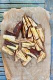 Grilled aubergine Stock Photo