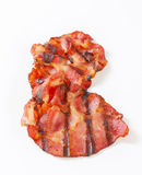 Grilled bacon Stock Image