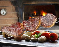 Grilled barbecue Royalty Free Stock Photography