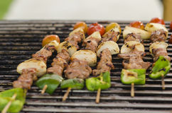 Grilled barbecue Stock Image