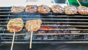 Grilled barbecue pork Royalty Free Stock Photos