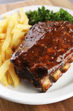 Grilled barbecue ribs Royalty Free Stock Image