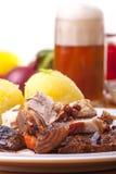 Grilled bavarian pork Stock Photos