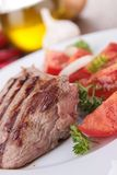 Grilled beef Royalty Free Stock Image