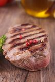 Grilled beef,barbecue Stock Images