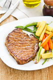 Grilled beef [Beef steak ] Stock Photography