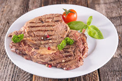 Grilled beef Royalty Free Stock Images