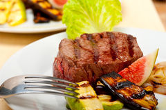 Grilled beef filet mignon Stock Photo