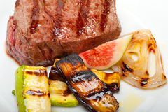 Grilled beef filet mignon Stock Image