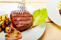Grilled beef filet mignon Royalty Free Stock Photos