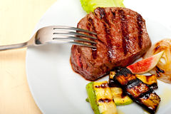 Grilled beef filet mignon Royalty Free Stock Image