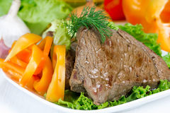 Grilled beef Royalty Free Stock Photo