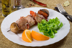 Grilled beef meat Stock Photography
