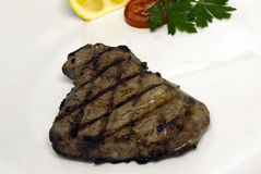 Grilled beef steak Royalty Free Stock Photos