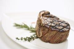 Grilled beef tenderloin. Royalty Free Stock Photos