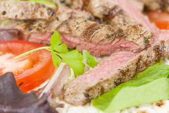 Grilled Beef Wraps Royalty Free Stock Image