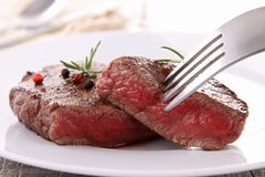 Grilled beefsteak Royalty Free Stock Photo
