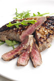 Grilled beefsteak Royalty Free Stock Images