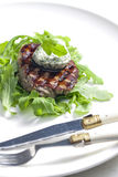 Grilled beefsteak Stock Photography